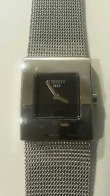 Ladies Tissot L610K stainless steel watch in original box