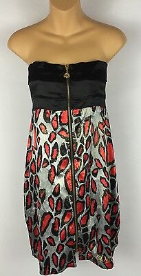 Beyonce I Am World Tour 2009 Dereon Animal Instinct Dress Womens Medium NWT