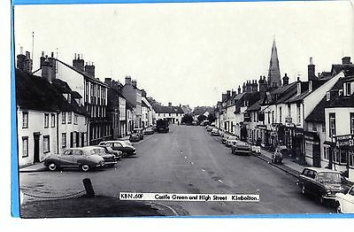Kimbolton - High St And Castle Green - Frith`s Series Rp  Unposted