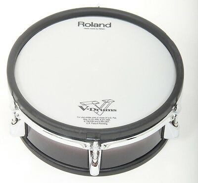 """Roland PD-105 10"""" Dual Trigger Mesh Electronic Drum Pad Electric Kit"""