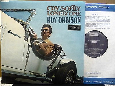 "Roy Orbison "" Cry Softly Lonely One "" Uk London Stereo Vn.mint  In Vn.mint Sl."