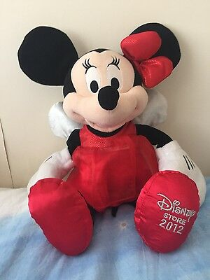 Disney Minnie Mouse Cuddly Toy, Teddy, Excellent.