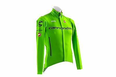 Brand New Castelli Cannondale Green Perfetto Road Bike Bicycle Cycling LS Jersey