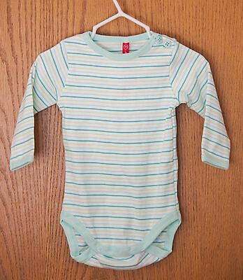 Hanna Andersson one-piece size 60 (3-6 months), New with tags NWT, stripe onesie