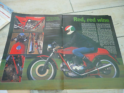 Ducati 860 Metisse & other specials technical & historical literature