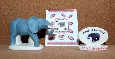 Wade - World of Survival -  Elephant and Plaque