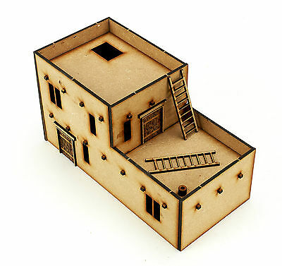 Wargames Terrain WW2 28mm North African house Kit Bolt Action B