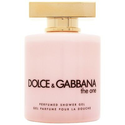 NEW Dolce & Gabbana The One Shower Gel 200ml for women FREE P&P