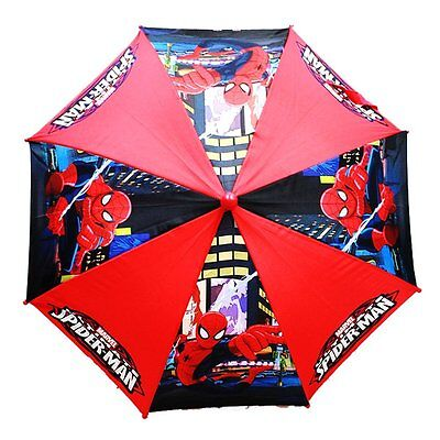 Marvel Ultimate Spider Man Kids Umbrella with 3D Handle Boys
