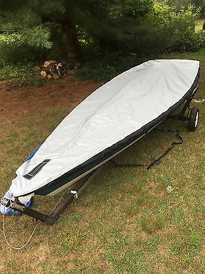 Laser® Sailboat Ballistic Nylon Deck Cover