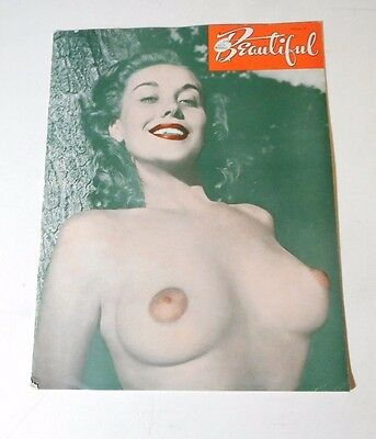 Vtg The New Models Beautiful Magazine Vol Ix - Nude Girl Pin Up Art Photography