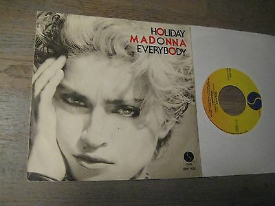 Madonna - Holiday    Rare Italy  7""
