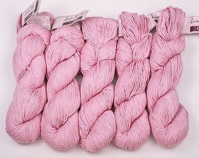 5 x 100g Pink Louisa Harding Colline-80% Cotton,20% Alpaca sh 02
