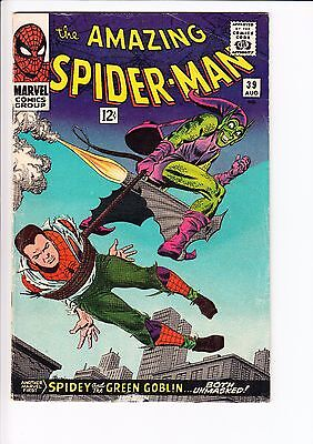 The Amazing Spider-Man #39 (Marvel, 1966) | FN | Green Goblin ID Revealed!  KEY!