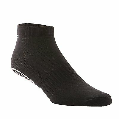 NEW Skidders Women's Fitness Grip Socks Ankle High One Size Fits Most Black
