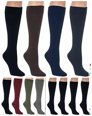 Legacy Graduated 3 Pair Compression Trouser Socks A269482 Standard or Wide Calf