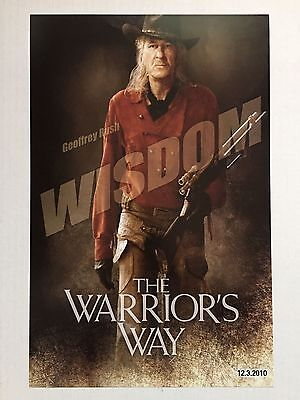 "THE WARRIOR'S WAY ""B"" 11x17 PROMO MOVIE POSTER"