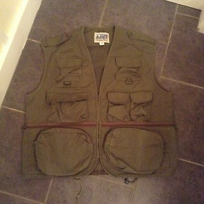 mans new fishing or shooting vest XXL