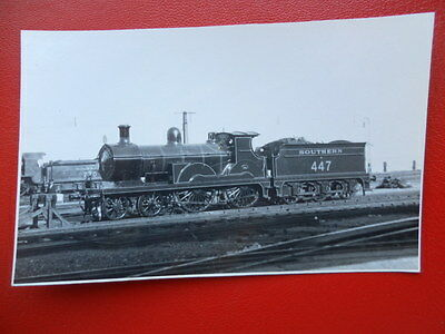 Photo  Sr Ex Secr Class B1 4-4-0 Loco No A447
