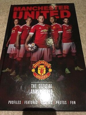 The Official Manchester United Annual 2016 by Steve Bertram (Hardback, 2015)