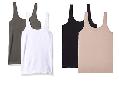 NEW Carole Hochman Ladies' 2-Pack Scoop Neck Tank - S / M / L / XL