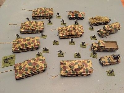 Airfix 1/72 German tanks and Infantry lot