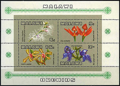 Malawi 1969 SG#MS333 Orchids Flowers MNH M/S #D42705