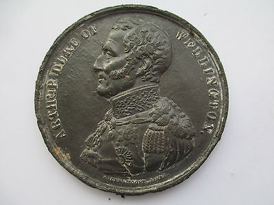 Medal commemorating the death of the Duke of Wellington, 1852  ** WATERLOO**