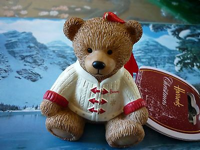 Harrods 2016 Christmas Resin Bear New Sold Out On  Line