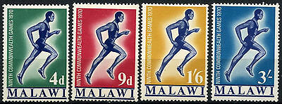 Malawi 1970 SG#351-4 Commonwealth Games MH Set #D42713