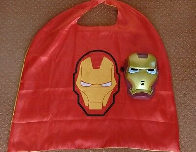 Iron Man mask and cape