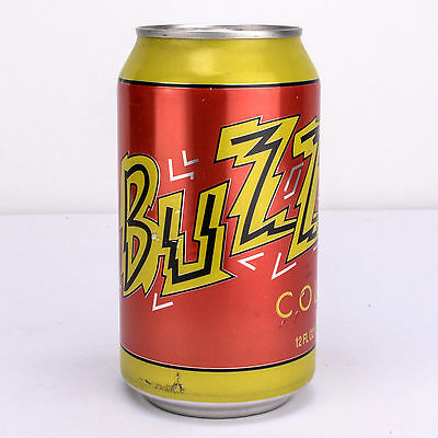Unopened Full Can Of Buzz Cola From The Simpsons Movie Tie-In Product 2007 7-11