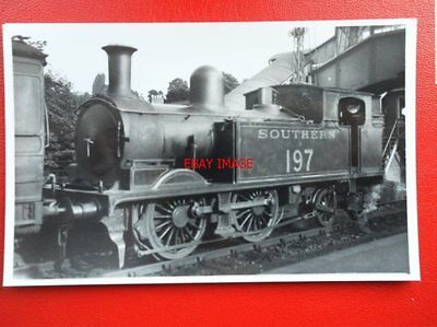 Photo  Sr Ex Lswr O2 Class Loco No 30197