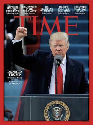Time magazine 23 January 2017, Trump and the world, Life at 1600