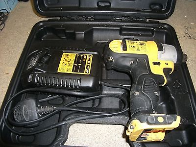 Dewalt 10.8v Impact Driver Bare with Charger and Case