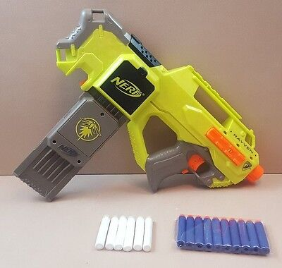 Nerf N-Strike Rayven. Glow in the dark version with darts.