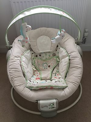 Comfort & Harmony Bounce Baby Seat With Detachable Toy Bar