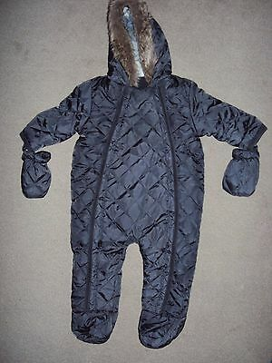 3-6 months baby boy clothes bundle (12 items, inc 2pc snowsuits)