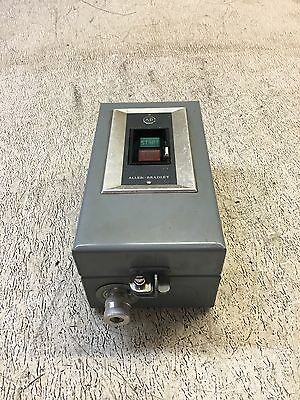 Allen Bradley Bulletin 609 Ac Manual Controller, Size 0, 3Ph, Cat# 609-Aaw, Used