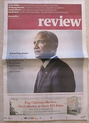 The legacy of Barack Obama – Guardian Review – 10 December 2016