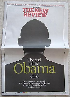 The end of the Obama era - Observer - The New Review – 4 September 2016