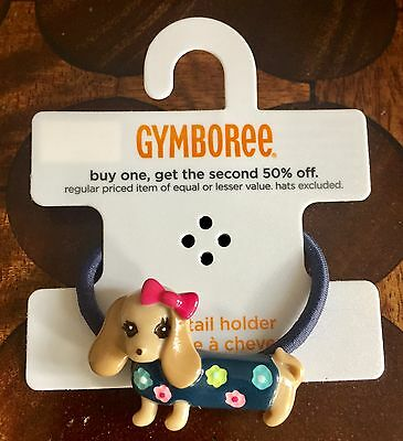 Gymboree Super Cute Dog Hair Bobble / Tie - Brand New with Tag