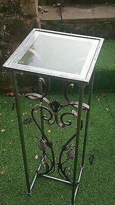 Antique/vintage  wrought iron stand
