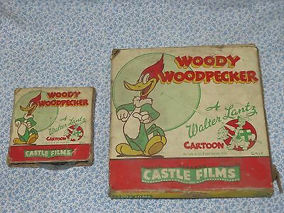 Vintage Castle Films Walter Lantz Woody Woodpecker 16 mm Dizzy Acrobat And More