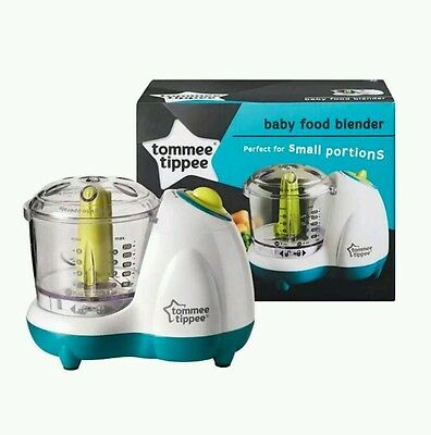 NEW Tommee Tippee Explora Baby Food Blender free P&P next day delivery