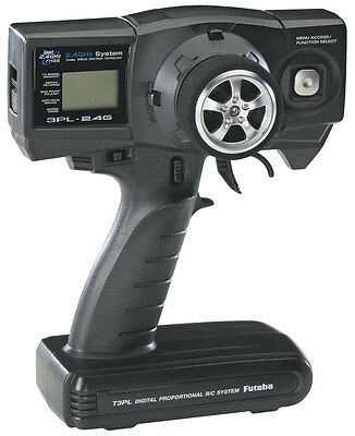Futaba 3PL FHSS 2.4GHz 3 Channel Radio Transmitter - Receiver Not Included