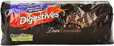 Chocolate Digestive Biscuits, McVitie's, 10.5 oz Plain Dark Chocolate 1 pack