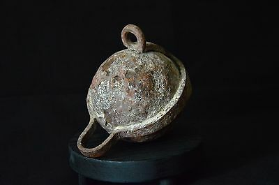 bola hierro Medieval-medieval Iron cast ball