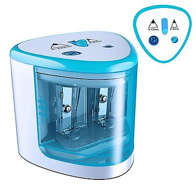 MROCO Battery Operated Electric Pencil Sharpener Colored Pencils Sharpener for