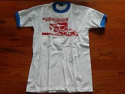 Vintage At The Track Mac Tools Racing Tshirt M 1991